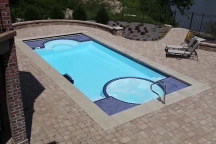 ✅ Fiberglass Pools with built in spas fiberglass pools inground ...