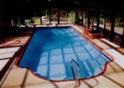 Pacific fiberglass pool, click for this Award entry