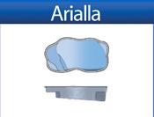 ARIELLA fiberglass pool