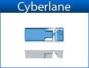 CYBERLANE fiberglass pool