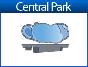 CENTRAL PARK fiberglass pool