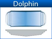 DOLPHIN fiberglass pool