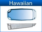 HAWAIIAN fiberglass pool
