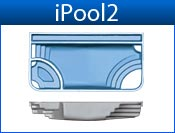 IPOOL2 fiberglass pool