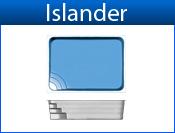 ISLANDER fiberglass pool