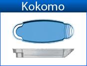 KOKOMO fiberglass pool
