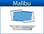 MALIBU fiberglass pool