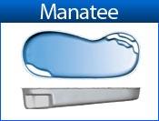 MANATEE fiberglass pool