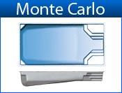 MONTE CARLO fiberglass pool
