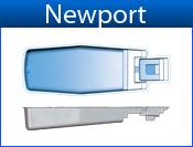 NEWPORT fiberglass pool