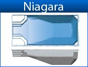 NIAGARA fiberglass pool