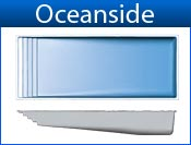 OCEANSIDE fiberglass pool