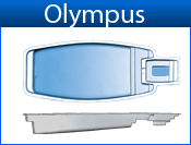 OLYMPUS fiberglass pool