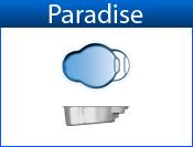PARADISE fiberglass pool