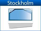 STOCKHOLM fiberglass pool