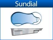 SUNDIAL fiberglass pool