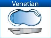 VENETIAN fiberglass pool