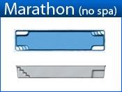 MARATHON (Pool Only) fiberglass pool