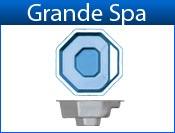 GRANDE fiberglass spa