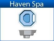 HAVEN fiberglass spa