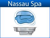 NASSAU fiberglass spa