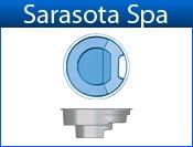 SARASOTA fiberglass spa