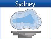 SIDNEY fiberglass spa