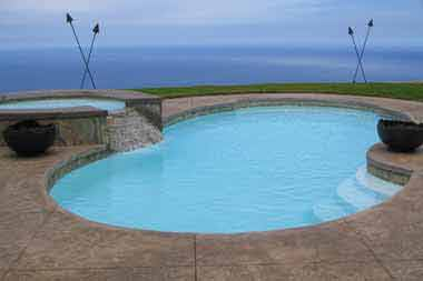 Atlantic Deep fiberglass swimming pool