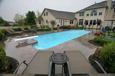 Dallas fiberglass swimming pool