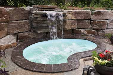 Royale fiberglass swimming pool