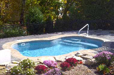 Arialla fiberglass swimming pool