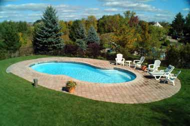 Atlantic fiberglass swimming pool